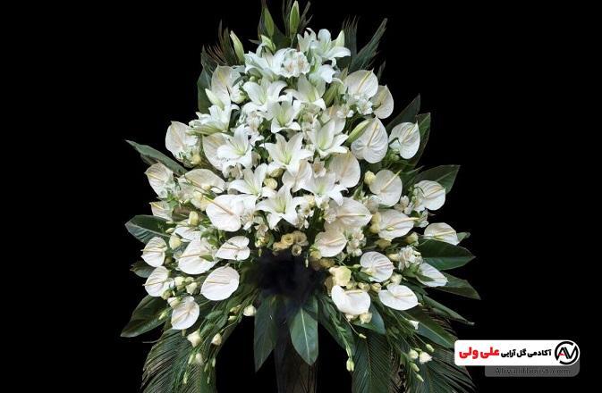 گل آرایی مراسم ترحیم