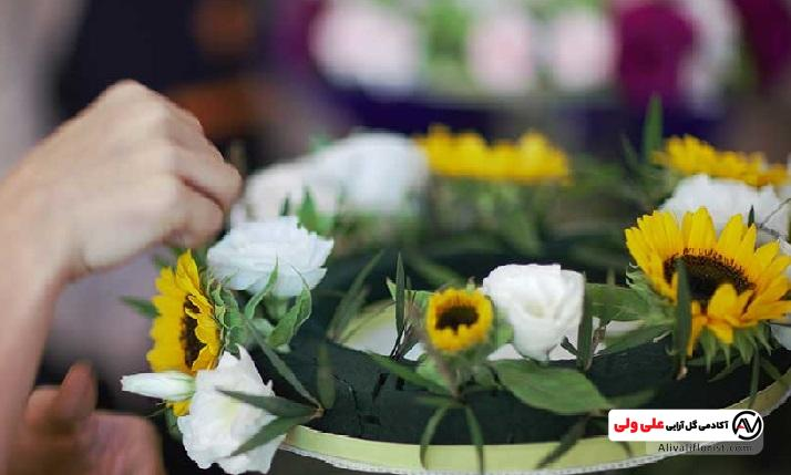 نکات مهم گل آرایی روی اسفنج