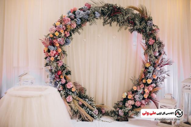 گل آرایی مراسم