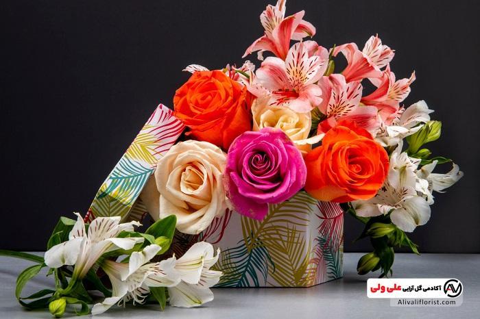 باکس گل بهاری