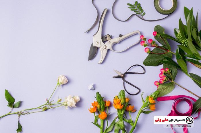ابزار گل آرایی
