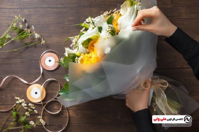 دسته گل مناسب کسب در آمد از گل آرایی