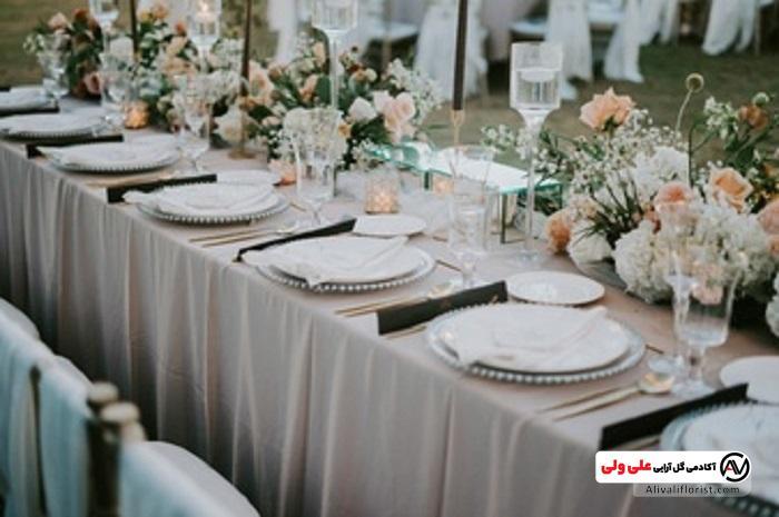 نزیین جشن و میز ها