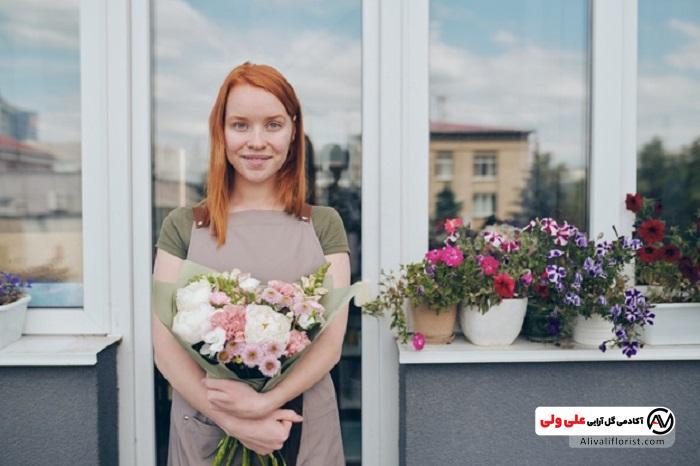 نمونه گلدان برای تراس
