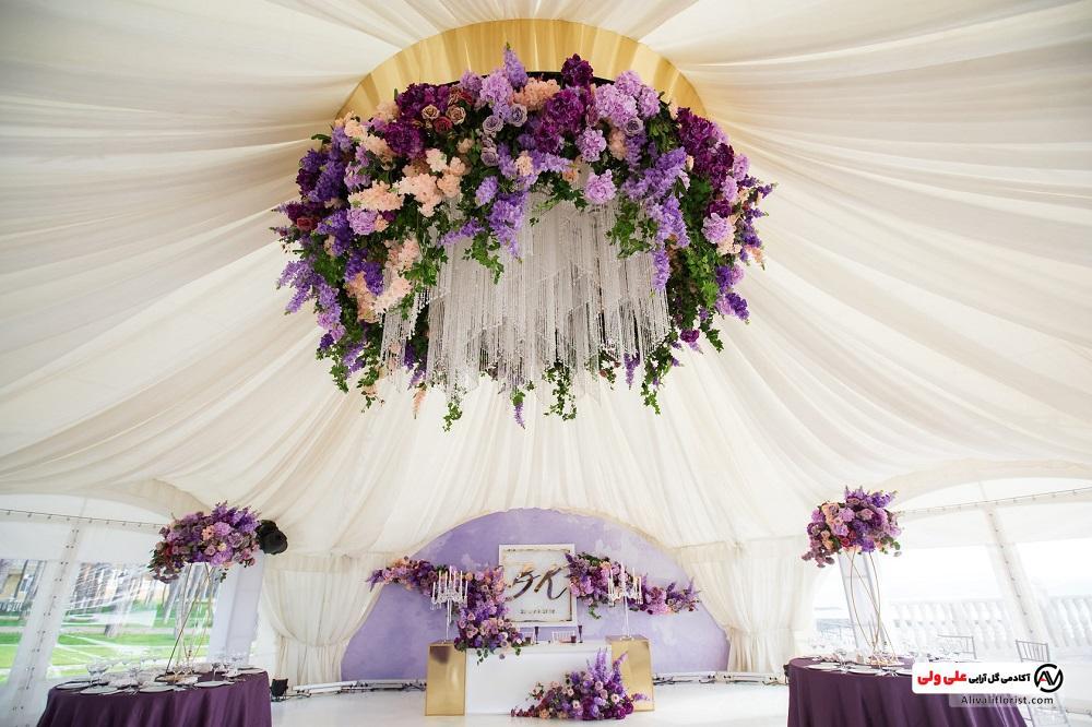 ایده برای گل آرایی مراسم ازدواج