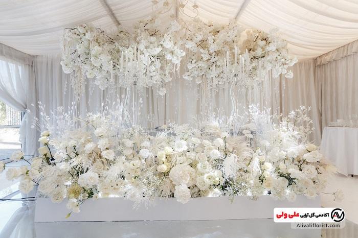 گل آرایی مراسم ازدواج