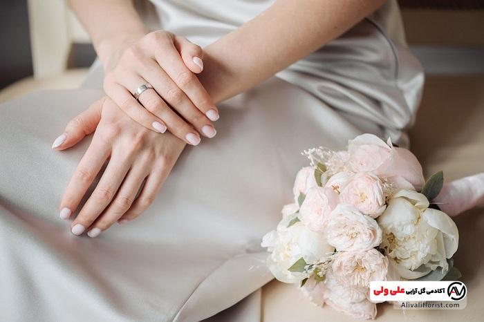 دسته گل عروس در مراسم ازدواج