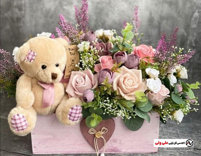 گل برای تولد نوزاد