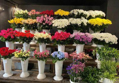 انواع گل و برگ های قابل استفاده در دسته گل زیبا
